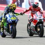 Akhlak Rossi Kepada Dovizioso di Sepang
